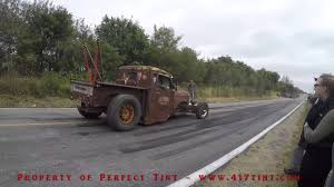Rat Rod Burnout - Fail - Into Crowd - Must See - Funny! - YouTube