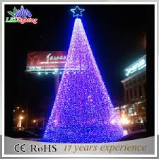 Spiral Lighted Christmas Trees Outdoor by China Artificial Outdoor Spiral Led Christmas Tree Flashing Giant