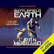 Battlefield Earth Audiobook Cover Art