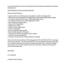 Sample Debt Validation Letter debt
