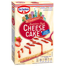 cheesecake american style strawberry
