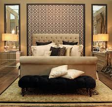 Decked In Opulent Tones Of Black And Gold The Bedroom At Ideal Home Great Gatsby Show House Is Swathed Layers Sumptuous Fabrics From Ventura