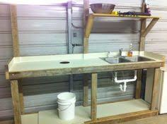Fish Cleaning Station With Sink by Outdoor Sink Area For Camp Google Search Everything Pallets