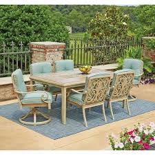 Azalea Ridge Patio Furniture Table by Lynden Hills 7 Piece Dining Set With Sunbrella Fabric Http Www