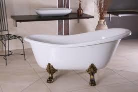 freistehende luxus badewanne jugendstil roma weiß altgold 1470mm barock badezimmer retro antik badewanne
