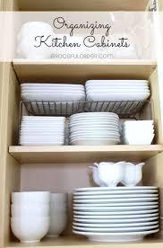 Organizing Kitchen Drawers And Cabinets Best 25 Organizing Kitchen