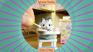 Sylvanian Families 5221 - Babyhochstuhl, Sammelfiguren Und Zubehör ... Calico Critters Tea And Treats Set Walmartcom Baby Kitty Boat And Mini Carry Case Youtube 2 Different Play Sets Together Highchair Cradle With Houses Opening Lots More Stuff Sylvian Families Unboxing Review Playpen High Childrens Bedroom Room Nursery Minds Alive Toys Crafts Books Critter The Is A Fashion Showcase Magic Beans Luxury Townhome Cc1804 Splashy Otter Family Castle Epoch Toysrus