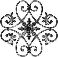 deco fer forge ferronnerie panneau grille décoration fer forgé ferronnerie fenestrons