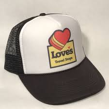 100 Loves Truck Stop Corporate Office Vintage Style Travel Gas Oil Er Hat Snapback