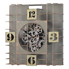 Gibson 20 Moving Gear Wall Clock 41108