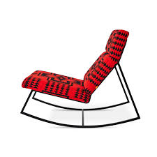 100 Gus Rocking Chair Modern X Pendleton Together For Limited Edition Collection
