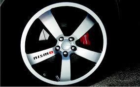 For X8 NISMO Car / Truck VINYL Sticker Decal Wheel Racing 4X4 Rim ...