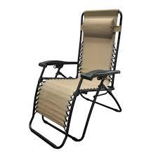 caravan sports infinity beige zero gravity patio chair 80009000150