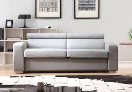 canapé simili cuir gris canape en cuir gris canapac 3 places en cuir gris perle canape