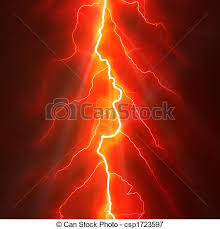 Lightening Clipart Red Lightning 15