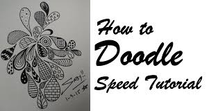 How To Draw Doodle Art For Beginners Easy Simple Doodling Speed