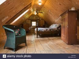 dachgeschoss schlafzimmer im 19 jahrhundert nach hause