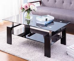 100 Living Room Table Modern Coffee Distinctive Design Tea With Tiers Glass Top
