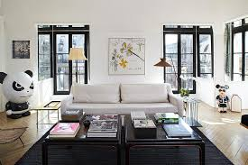 Paris Themed Living Room by Apartement In Paris By Sarah Lavoine Homeadore
