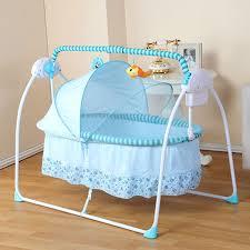 Fashion Big Space Electric Baby Crib Infant Rocker 100 55 cm 6