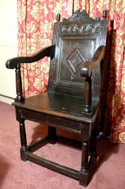 100 High Back Antique Chair Styles Charles I Oak Armchair With Carved Back And Hourglass Finials High