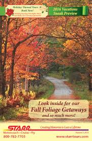 Historic Hudson Valley Pumpkin Blaze Promo Code by Starr Vacation Catalog August 2016 By Starr Tours Issuu