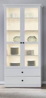 vitrinenschrank weiß landhaus vitrine wohnzimmer esszimmer schrank baxter 80x196 cm