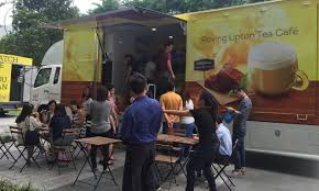 Lipton Creates Cafe Like Experience With The Help Of Roving Truck ...