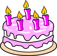 Girl S Birthday Cake Clip art