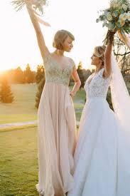 taylor swift bridesmaid dress lace and chiffon celebrity wedding