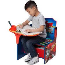 Toddler Art Desk And Chair by Delta Children Nick Jr Paw Patrol Chair Desk With Storage Bin