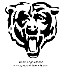 Printable Blackhawks Pumpkin Stencil by Image Result For Chicago Bears Logo Stencil Stuff