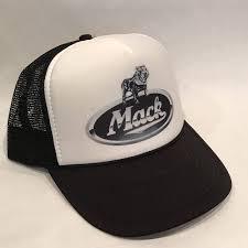 100 Mack Truck Hat S Er Chrome Bulldog Logo Vintage Snapback Etsy