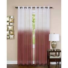 Orange Sheer Curtains Walmart by Mainstays Hanging Medallion Grommet Curtain Panels Set Of 2 80