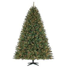 Walmart Flocked Christmas Trees Artificial by Holiday Time 7 5 U0027 Prescott Quick Set U0026 Quick Fold Pine Christmas