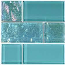 türkis gemischte glasfliese gemischte glasfliese