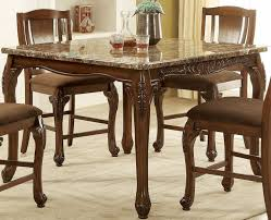 Furniture Of America Johannesburg Brown Cherry Counter Height Dining