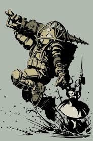 Download Bioshock 2 Art Wallpaper For iPhone 4