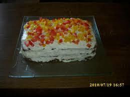 schwarzbrot frischkäse torte