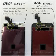Is that the best you can do Quality vs Price iPhone screen