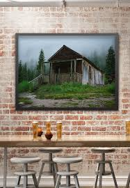 Hermit Cabin Photography Rocky Mountain Art Colorado Abandoned Print Rustic