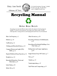 Chicago Christmas Tree Recycling by Download Recycling Manual Chicago Illinois Usa Docshare Tips
