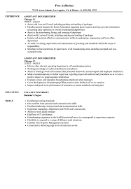 Assistant Housekeeper Resume Samples | Velvet Jobs Housekeeping Resume Sample Monstercom Description For Of Duties Hospital Entry Level Hotel Housekeeper Genius Samples Examples Free Fresh Summary By Real People Head 78 Private Housekeeper Resume Sample Juliasrestaurantnjcom The 2019 Guide With 20 Example And Guide For Professional Housekeeping How To Make