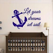 Nautical Nursery Décor Decals Stickers & Vinyl Art