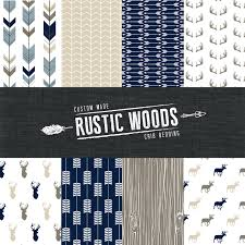 Woodland Crib Bedding Sets by The Rustic Woods Crib Bedding Set Modern Woodland Custom Crib
