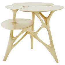 Vintage End Table With Lamp Attached by Antique And Vintage Side Tables 13 015 For Sale At 1stdibs