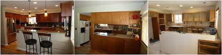 Kitchen Remodel Remove Wall Renovation Before And After Photos Design Ideas Cabin