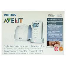 température chambre de bébé avent ecoute bébé dect mesure la température naocia