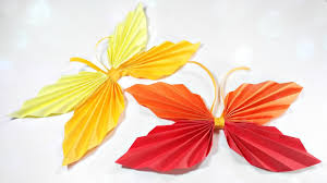 How To Make Paper Origami Butterfly Easy Step By For Kids Beginners Instructions Tutorial