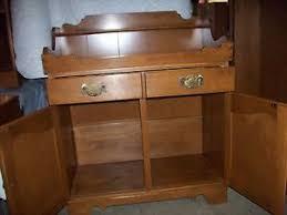 ethan allen maple 34 dry sink 10 6106 ebay